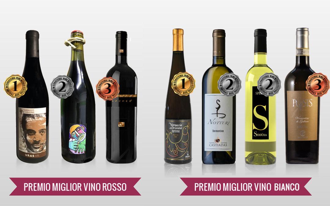 Rassegna Stampa 2018: I vincitori del premio Cagliari International Wine&Food Festival 2018